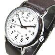 【メール便送料無料】TIMEX(タイメックス) T2N893 Weekender/ウィークエンダー セントラルパーク フルサイズ ブラウンレザー ミリタリー メンズウォッチ 輸入品 腕時計 【あす楽対応】