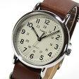 【メール便送料無料】TIMEX (タイメックス) T2P495 Weekender/ウィークエンダー セントラルパーク ミリタリー レザーベルト ブラウン メンズウォッチ 腕時計 【あす楽対応】