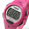 【メール便送料無料】TIMEX (タイメックス) T5K780 IRONMAN 10-LAP/アイアンマン 10ラップ デジタル ラバーベルト ピンク レディースウォッチ 腕時計