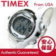 TIMEX (タイメックス) T5K806 Marathon/マラソン デジタル ラバーベルト ホワイト レディースウォッチ 腕時計 【あす楽対応】