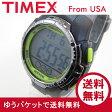 Timex (タイメックス) TW5M06700 Marathon/マラソン デジタル ラバーベルト ブラック×グリーン メンズウォッチ 腕時計