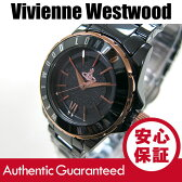 Vivienne Westwood (ヴィヴィアン・ウエストウッド) VV088RSBK Sloane/スローン セラミック メタルベルト ブラック×ゴールド ビビアン レディースウォッチ 腕時計