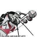 ワールドイーグル F-01α メンズ14点ゴルフクラブセット 左利き用【初心者 初級者 ビギナー】の商品画像
