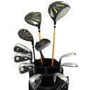 ワールドイーグル 5Z-BLACK メンズゴルフクラブ14点フルセット 4色から選べるバッグ!右用の商品画像