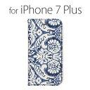 iPhone7Plus ケース カバー iPhone7Plus 手帳型 ZENUS 手帳型ケース Denim Paisley Diary アイフォン セブン Z44636i7P スマホスマートフォン docomo au softbankアイフォン セブン Plus ポイント送料無料8809217446364