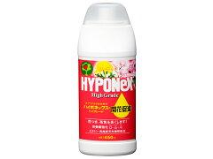 花つき、花色を良くします!【液体肥料】ハイポネックス ハイグレード 開花促進 450ml