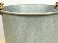 ブリキ製鉢カバー深8号32cm043508