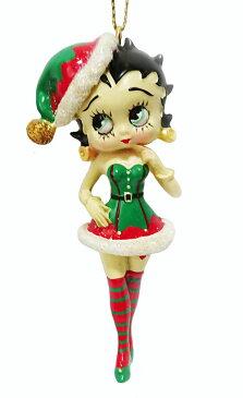 ベティー(ベティ) ブープBetty Boop X'mas OrnamentBetty Boop Cristmas Elf ornamentベティブープ オーナメントクリスマスエルフ オーナメントクリスマス 小人の妖精 オーナメント 飾り
