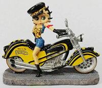 ベティー(ベティ)ブープBETTYBOOPCHOPPERBorntoRideCollectionBORNTOBEBOOP置物フィギュアバイカーベティバイクオートバイ