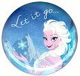 アナと雪の女王FrozenエルサQueenElsaofArendelleLetitgoバッチブローチ缶バッチloungeflyラウンジフライ【楽ギフ_包装】