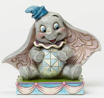 ディズニー ジム・ショアーThe Personality Pose CollectionBaby Mine Dumbo 私のベビー♪ ダンボ木彫り風 置物 フィギュア