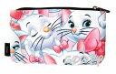 子猫のマリーマリーMarieおしゃれキャットThe Aristocatsポーチペンケースloungefly ラウンジフライ薄型ポーチ化粧ポーチペンケース
