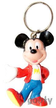 ミッキーマウス キーホルダーmickey mouse キーチェーン製造中止品 カジュアルウエアアメリカより直輸入