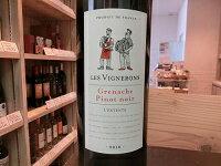 フランスレ・ヴィニュロンズグルナッシュ・ピノノワール2018赤ワイン・ミディアムボディ750mlスクリューキャップ/土着品種/ワインギフト/人物【ワインショップゴリヨン】