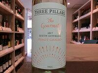 オーストラリアスリーピラーズザ・グルメピノ・グリージオ2017ThreePillarsTheGourmetPinotGrigio白ワイン・辛口750ml南オーストラリア州/ギフト/【ワインショップゴリヨン】