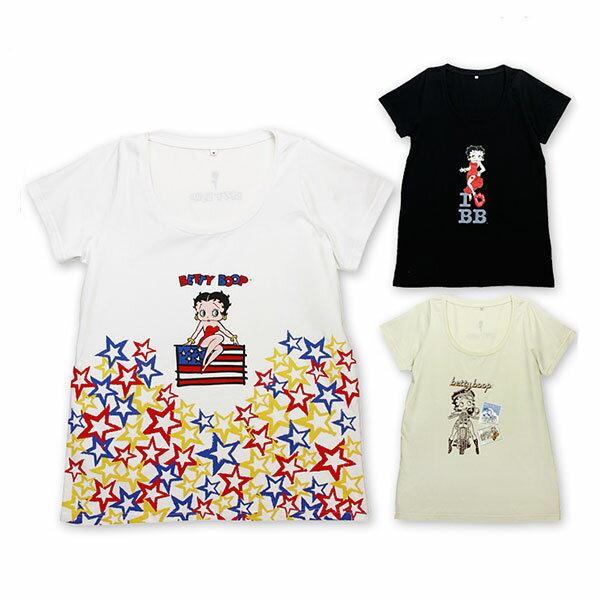 トップス, Tシャツ・カットソー 50OFF BettyBoop T BE13TS 3 I LOVE BB box