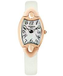 AMONNLISA【アモンリザレディース腕時計744B-WH-WH】