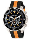 ワケあり アウトレット JET SET ジェットセット 腕時計 J21203-15 SPEEDWAY クロノグラフ