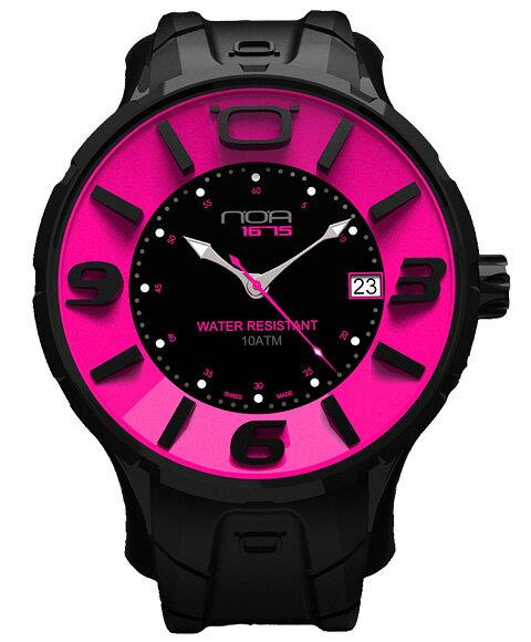 ワケあり アウトレット ノア イリス ブラック IRBP003 腕時計 メンズ NOA IRIS BLACK ※入荷時期によってストラップはラバーまたはレザーとなります。