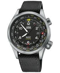 オリス【ORISビッグクラウンプロパイロットアルティメーターメートルスケールタイプメンズ腕時計73377054164TS(ブラック)】BigCrownProPilotAltimeter