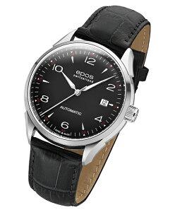 エポス epos 腕時計エポス 【epos オリジナーレ デイト 腕時計 3427ABK】自動巻