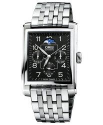 オリス【ORISレクタンギュラーコンプリケーションメンズ腕時計58276584034M】RectangularComplication