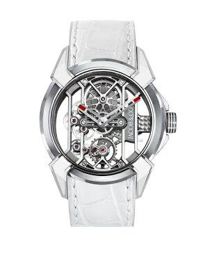 ジェイコブ エピックX 550.100.20.WR.OY ホワイト 腕時計 メンズ 手巻き レーシング TI スケルトン JACOB&CO EPIC X スケルトン