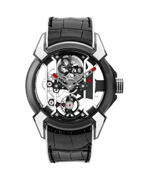 ジェイコブ エピックX 550.100.21.WR.PY ブラック 腕時計 メンズ 手巻き レーシング TI スケルトン JACOB&CO EPIC X スケルトン