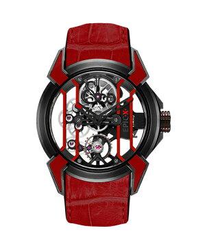 ジェイコブ エピックX 550.100.21.PS.OP レッド腕時計 メンズ 手巻き レーシング TI スケルトン JACOB&CO EPIC X スケルトン