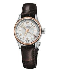 オリスビッグクラウンポインターデイト59476804331D腕時計レディース自動巻OrisBigCrown