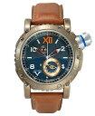 アウトレット 半額 ヴィスコンティ グランドクルーズ W110-01-143-1411 腕時計 メンズ VISCONTI Grand Cruise Bronze