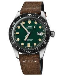 オリスダイバーズ6573377204057F(カーフ/ブラウン)メンズ腕時計自動巻OrisDiversSixtyFive