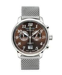 ツェッペリン7684M-3クロノグラフ腕時計メンズZEPPELIN