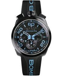 ボンバーグBOLT-68ネオンBS45CHPBA.030.3クォーツクロノグラフ腕時計メンズBOMBERGNEON