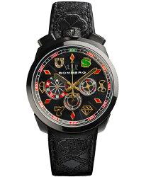ボンバーグBOLT-68ギャンブラーベガスリミテッドエディションBS45CHPBA.034.3クォーツクロノグラフ腕時計メンズBOMBERGGAMBLERVEGASLIMITEDEDITION