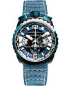 ボンバーグBOLT-68ガン&スカイブルーBS45CHPBLGM.050-3.3クォーツクロノグラフ腕時計メンズBOMBERGGUN&SKYBLUE