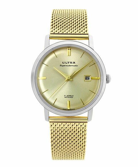 ウルトラ スーパーオートマティック US122OM 腕時計 メンズ 自動巻き ULTRA SUPERAUTOMATIC クロノグラフ メタルブレス