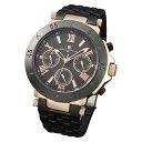 サルバトーレマーラ SM14118-PGBK 腕時計 メンズ Salvatore Marra メタルブレス