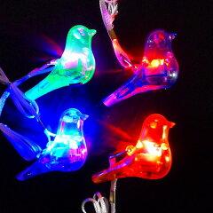 光るバードペンダント【ご注文単位は必ず24個単位でお願いします】光るおもちゃ 光るペンダント …