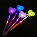 【光るおもちゃ】フラッシュハートスティック 12個入【光るおもちゃ 光り物玩具 縁日 お祭り 夏祭り 景品 おもちゃ 光る】