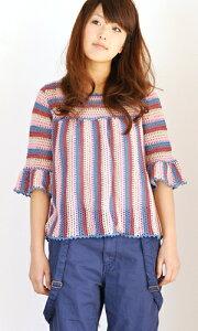 作品♪211-30 ボーダー模様のセーター