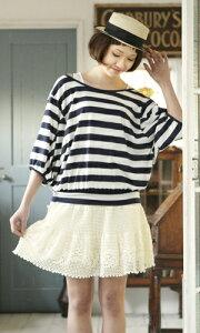 作品♪212ss-09レース編みのスカート