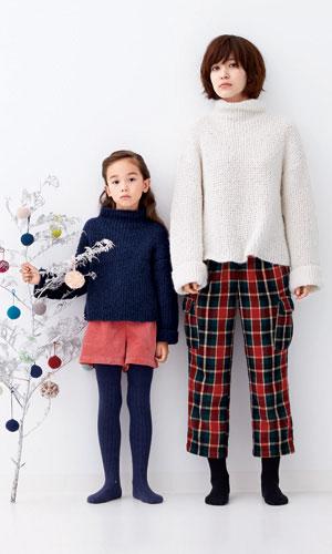 作品♪216aw-17ざっくりセーター