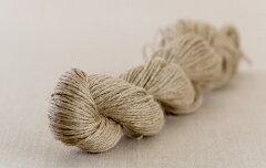 毛糸ピエロ♪ R106 麻(リネン)100% (草木染・手染め向け 生成り糸)