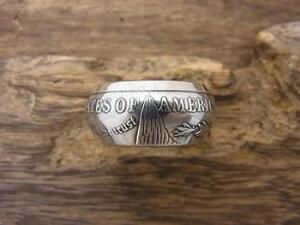 【送料無料】NORTH WORKS(ノース ワークス)n-001morgan dollar ring(モルガン ダラー コイン リング)シルバー