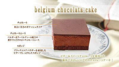ベルギーチョコレートケーキ詳細