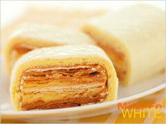 人気の函館スイーツ白バージョン!ホワイトチョコレートのやさしい甘さ真っ白に染まったもうひ...