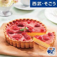 「ボン・ブーシェ」 苺とベリーのチーズケーキタルト