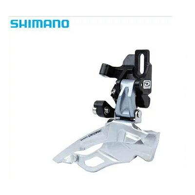 SHIMANO(シマノ)DEOREFD-M611-D(直付け)フロントディレイラーIFDM611TD6S(シルバー)ダウンスイング/トッププル