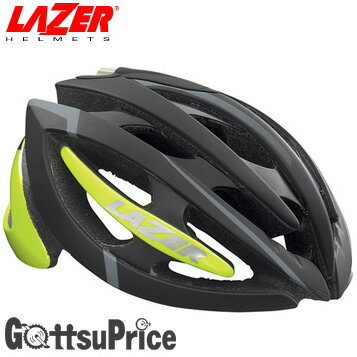 【自転車ヘルメットサイズ】【送料無料】LAZER(レーザー)ジェネシスフラッシュブラック自転車ヘルメット